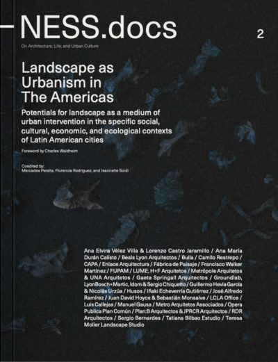 Landscape as Urbanism in the Americas
